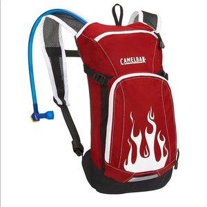 Camelbak Kids Red Flames Mini-MULE Hydration Pack